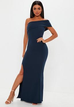 One Shoulder Long Dresses for Women