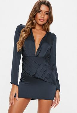 Robe de cocktail courte classe