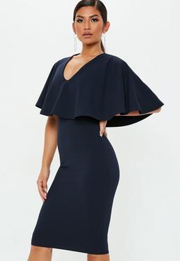 Deep V Neck Dress Plunging Neckline Dresses Missguided