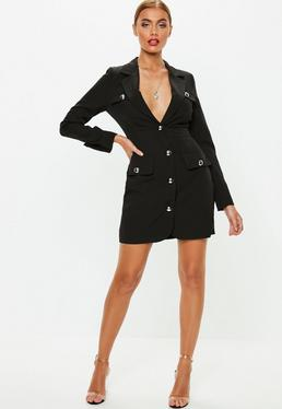 06ad34280c08 Blazer Dresses | Shop Tuxedo Dresses - Missguided
