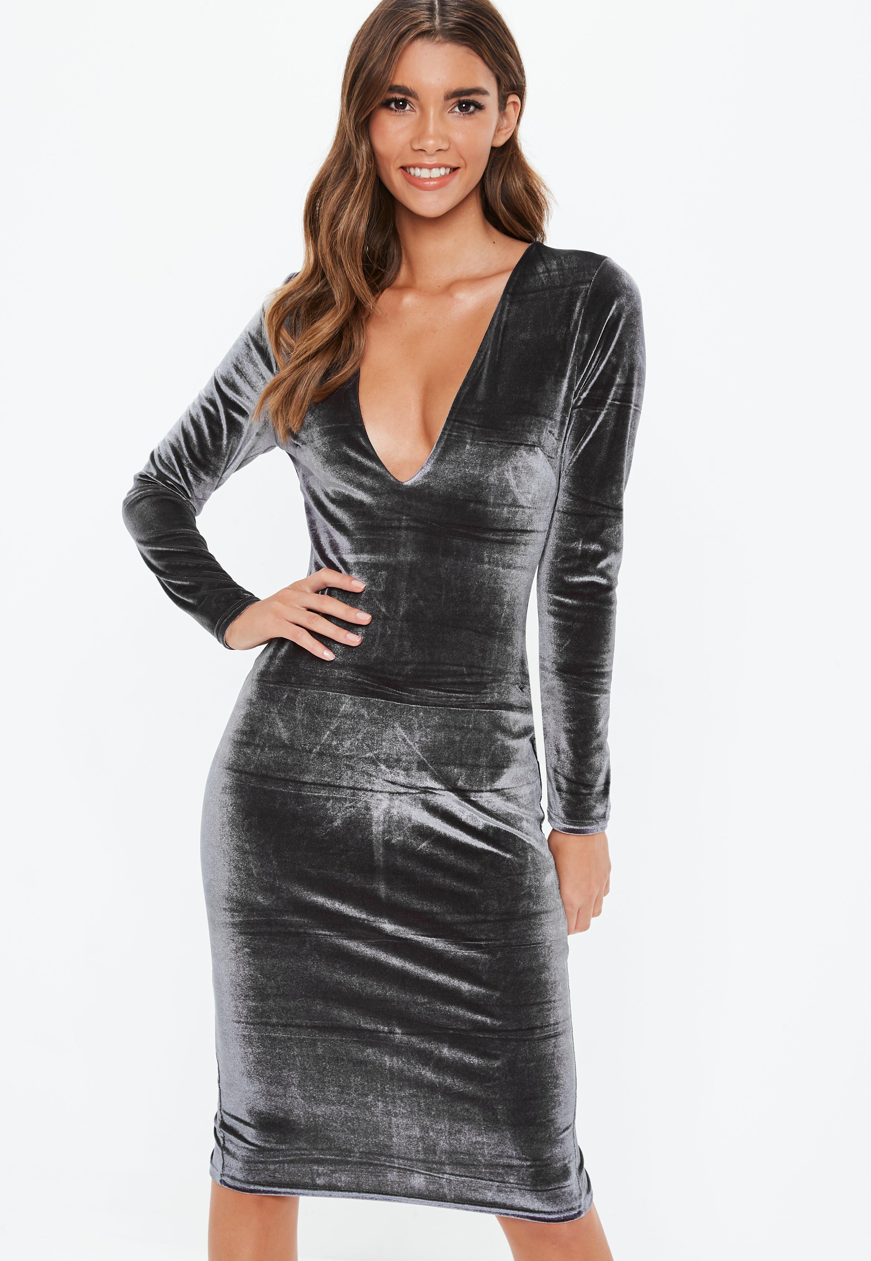 1f95b04caa311 Velvet Dresses - Women's Velour Dresses Online | Missguided