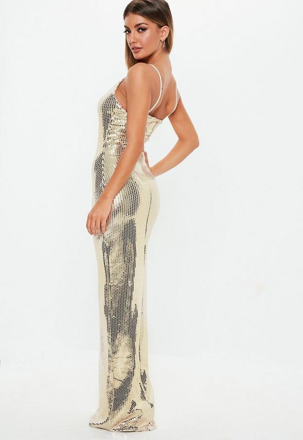 Gold Maxi Dresses