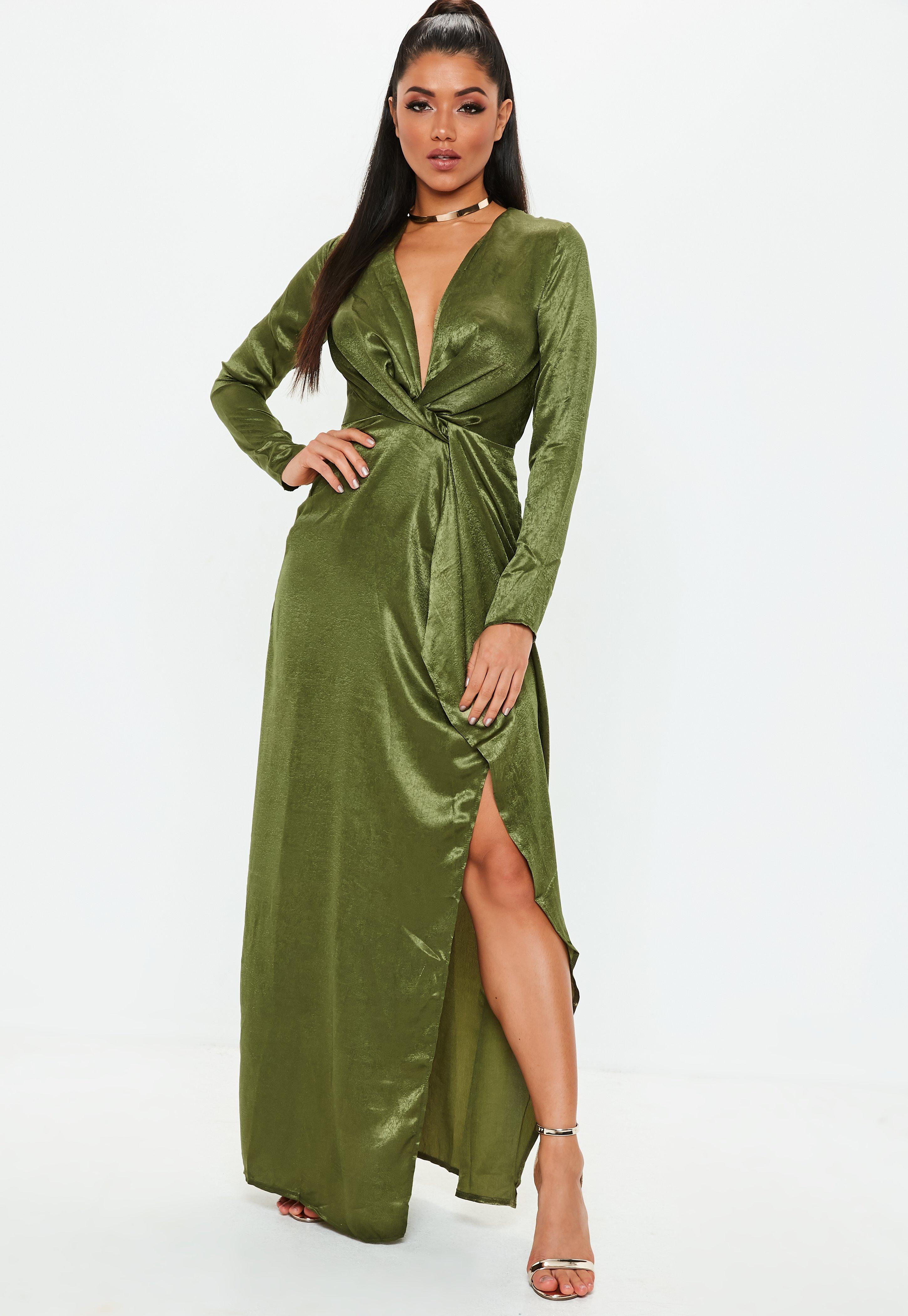 Formal Maxi Dresses with Sleeves
