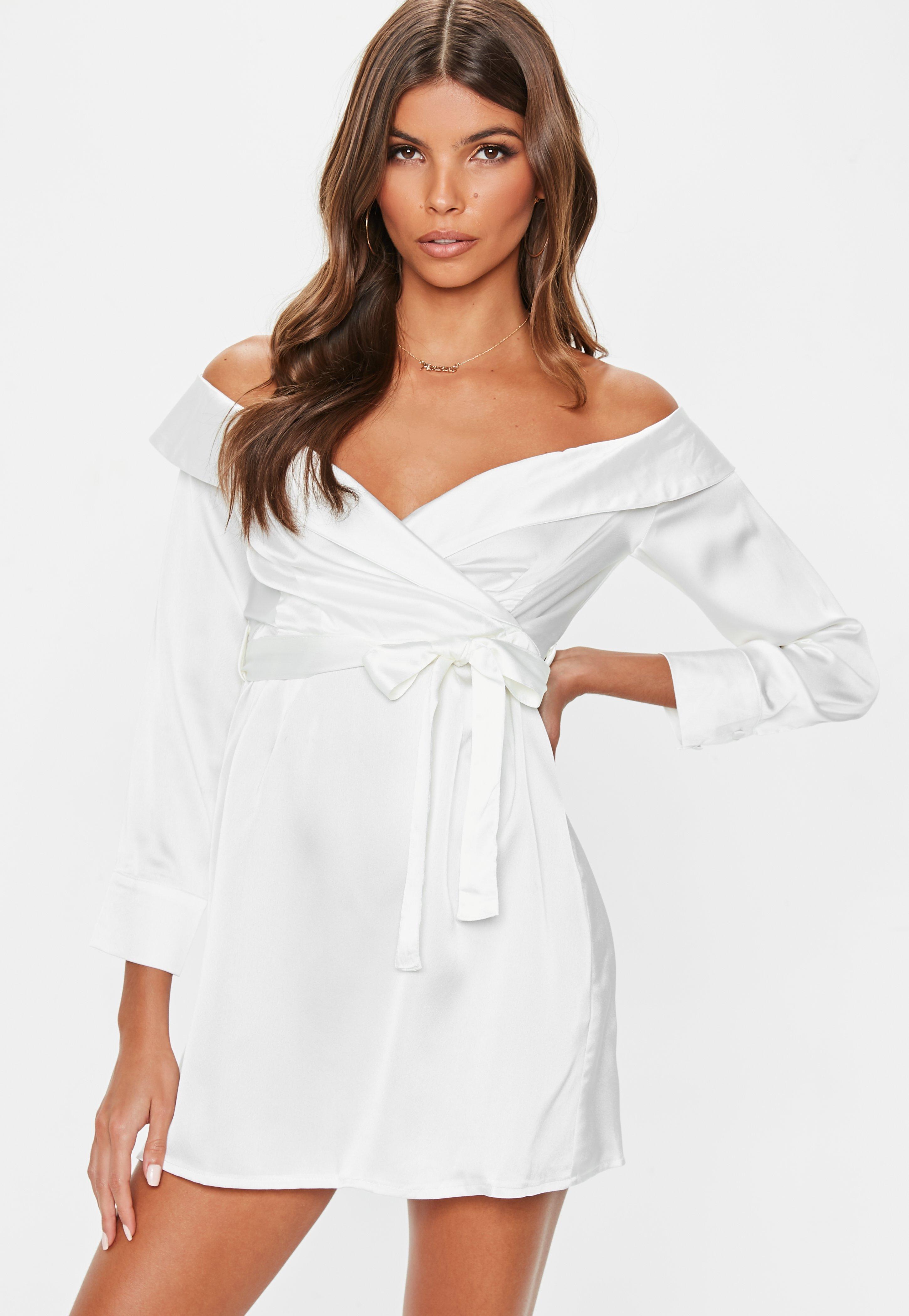 Venta de vestidos blancos casuales