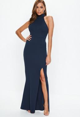 Navy and White Cocktail Dresses