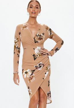 Wrap Dresses   Wrap Over   Tie Waist Dresses - Missguided 6c79e6dbe0