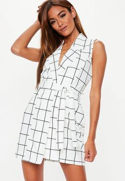 f5dfeb2de94 Check Blazer Dresses · Plus Size Blazer Dresses