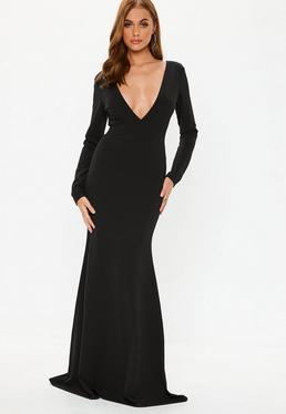 7da5d254f94d9 Long Sleeve Maxi Dresses