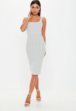 Black And White Stripe Dresses b29afff5c
