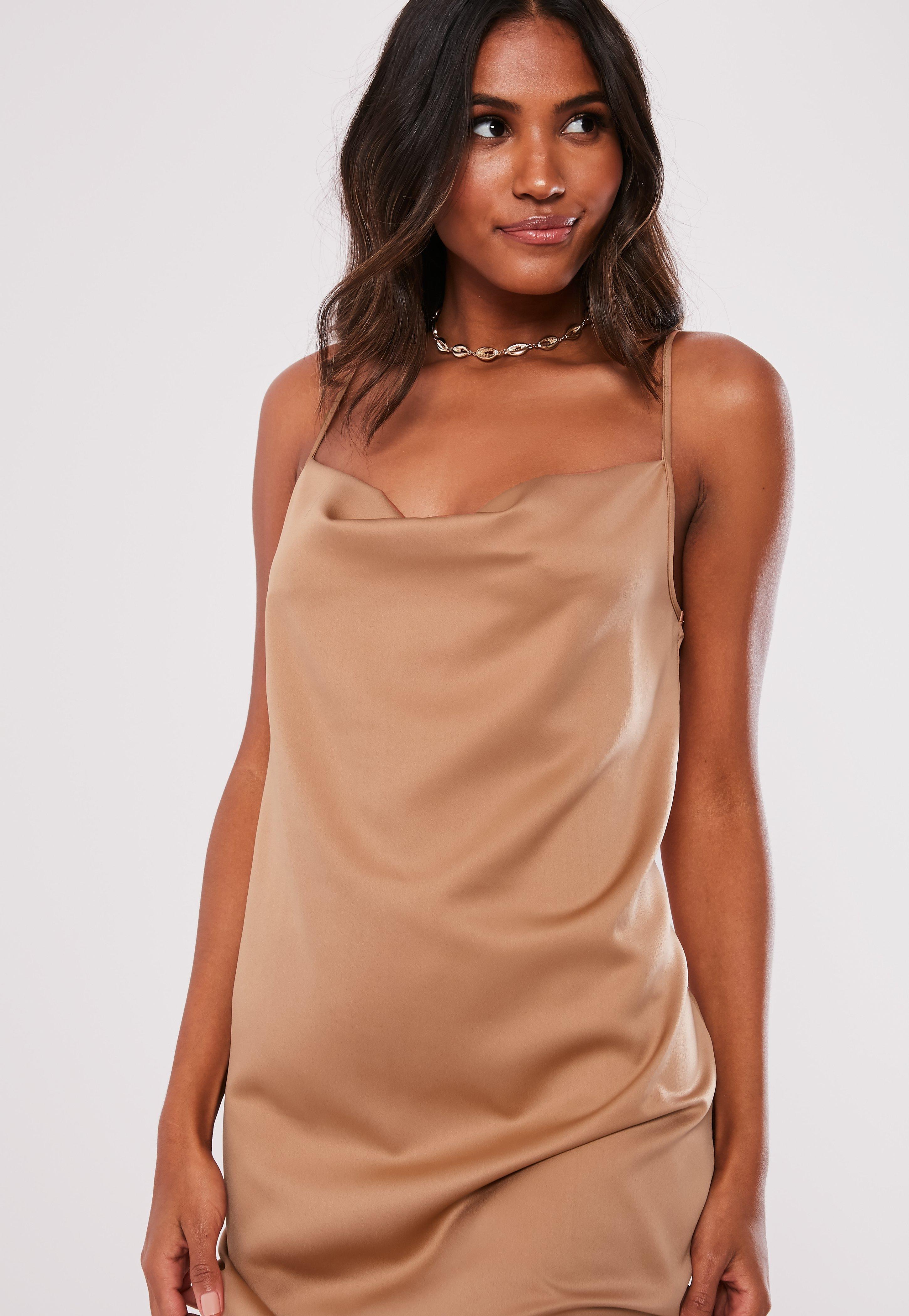 253feb1e5f68 Satin Dresses