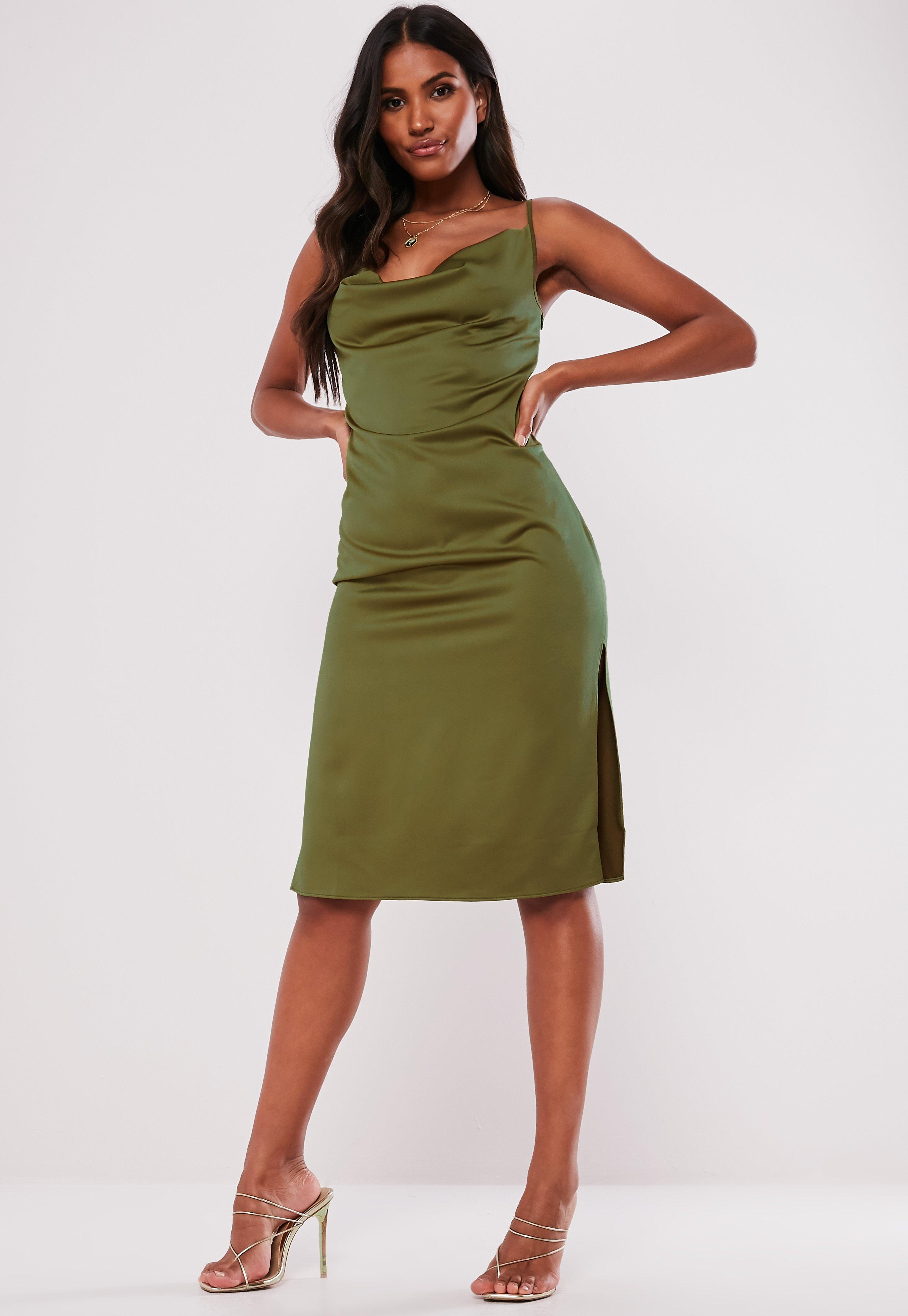 7c022b746f526 Slip Dresses | Shop Cami Dresses - Missguided