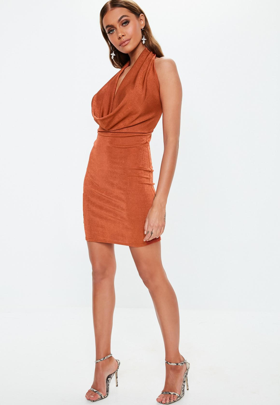 Missguided - robe courte dos-nu  à col bénitier - 2
