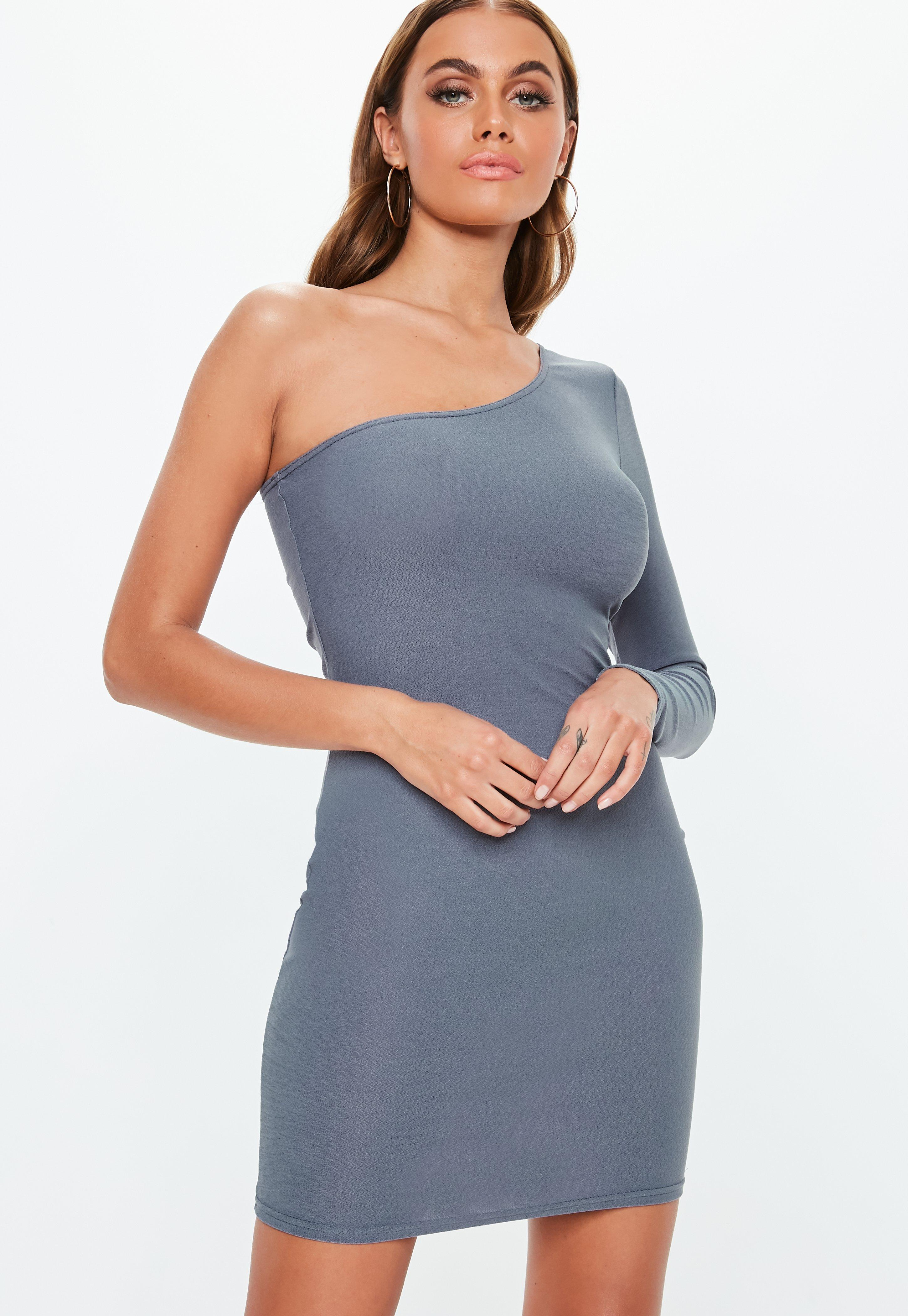 One Sleeve Cocktail Dress