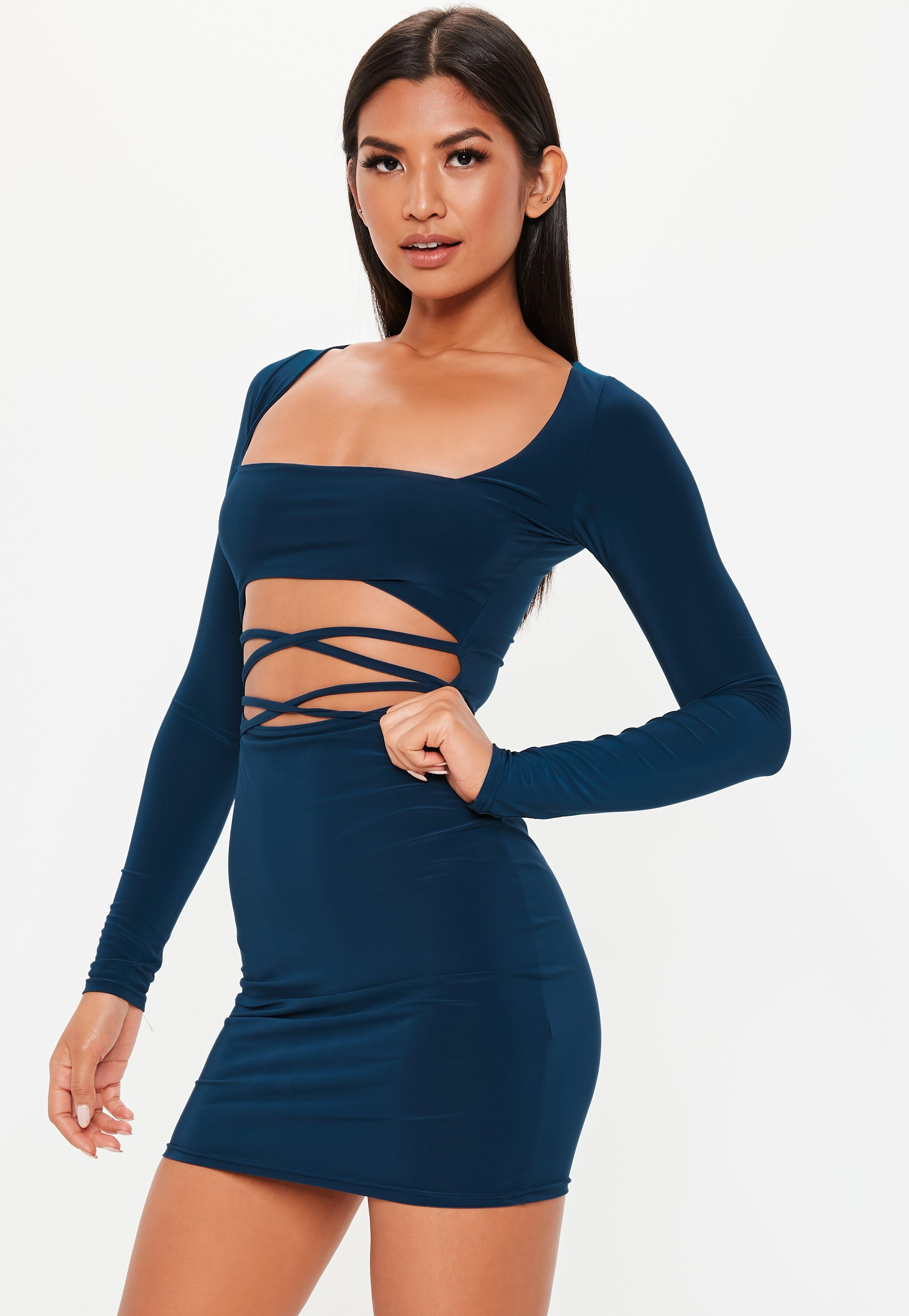 Cut Out Dresses Shop Cutaway Dresses Missguided