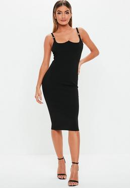 Bodycon Midi Dresses · Black Dresses be4297016