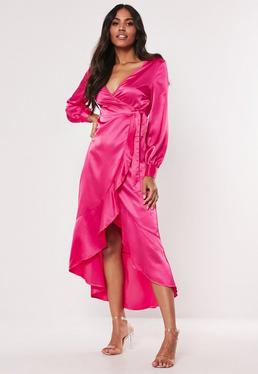 1860509fe06dfd Pink Dresses | Coral & Hot Pink Dresses - Missguided