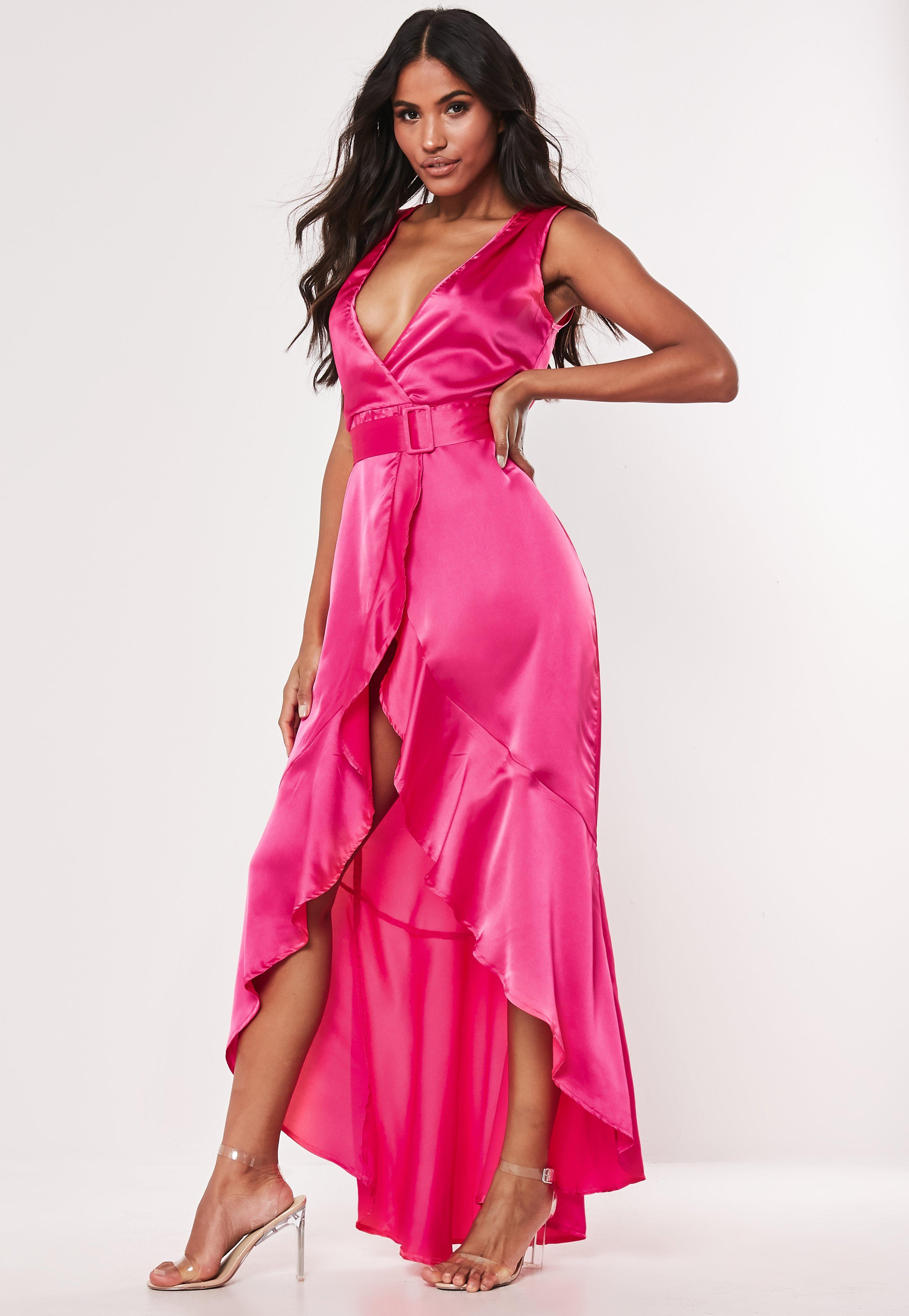 834557488a Deep V Neck Dress - Plunging Neckline Dresses