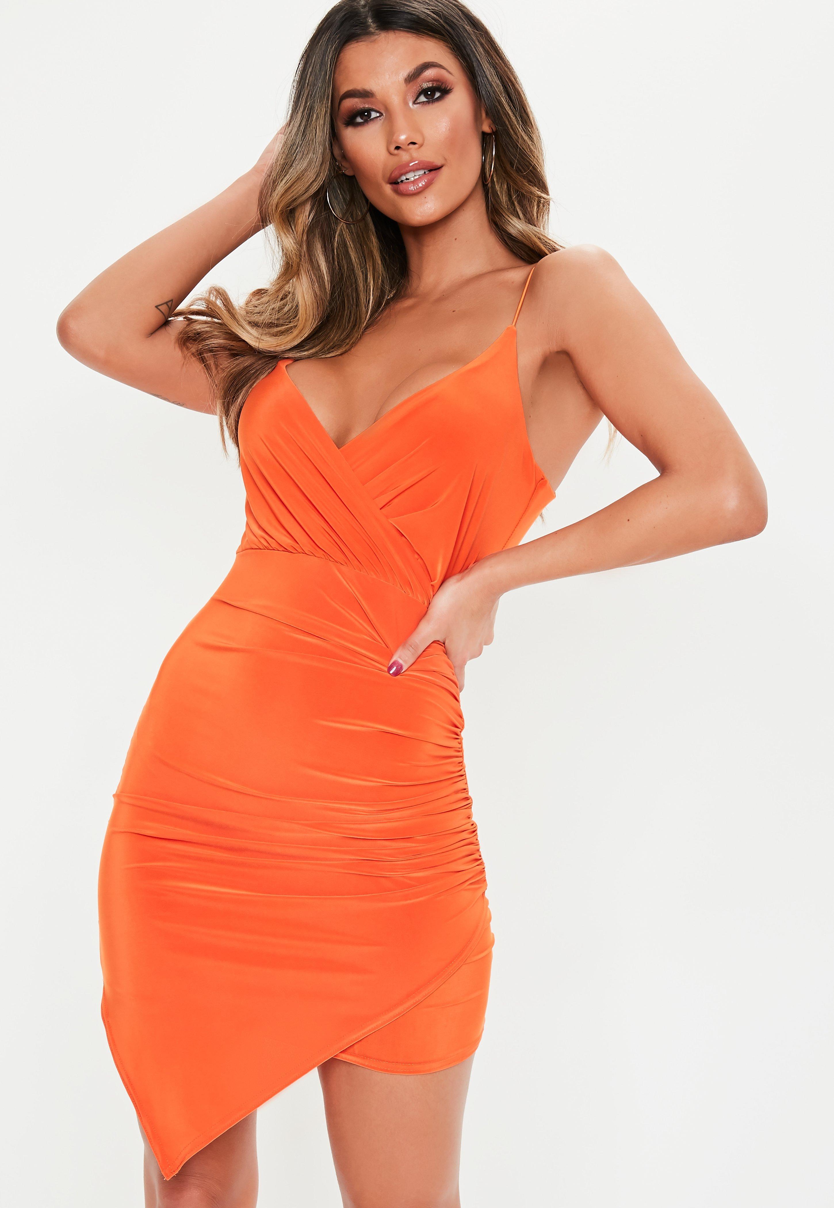 Orange Bodycon Dresses  bfcb2da12a