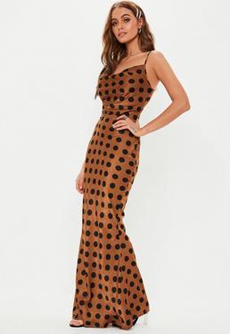 Orange Dresses