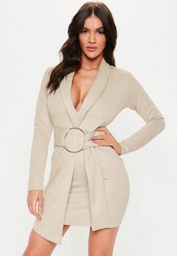 Belted Blazer Dresses a7e2d465e