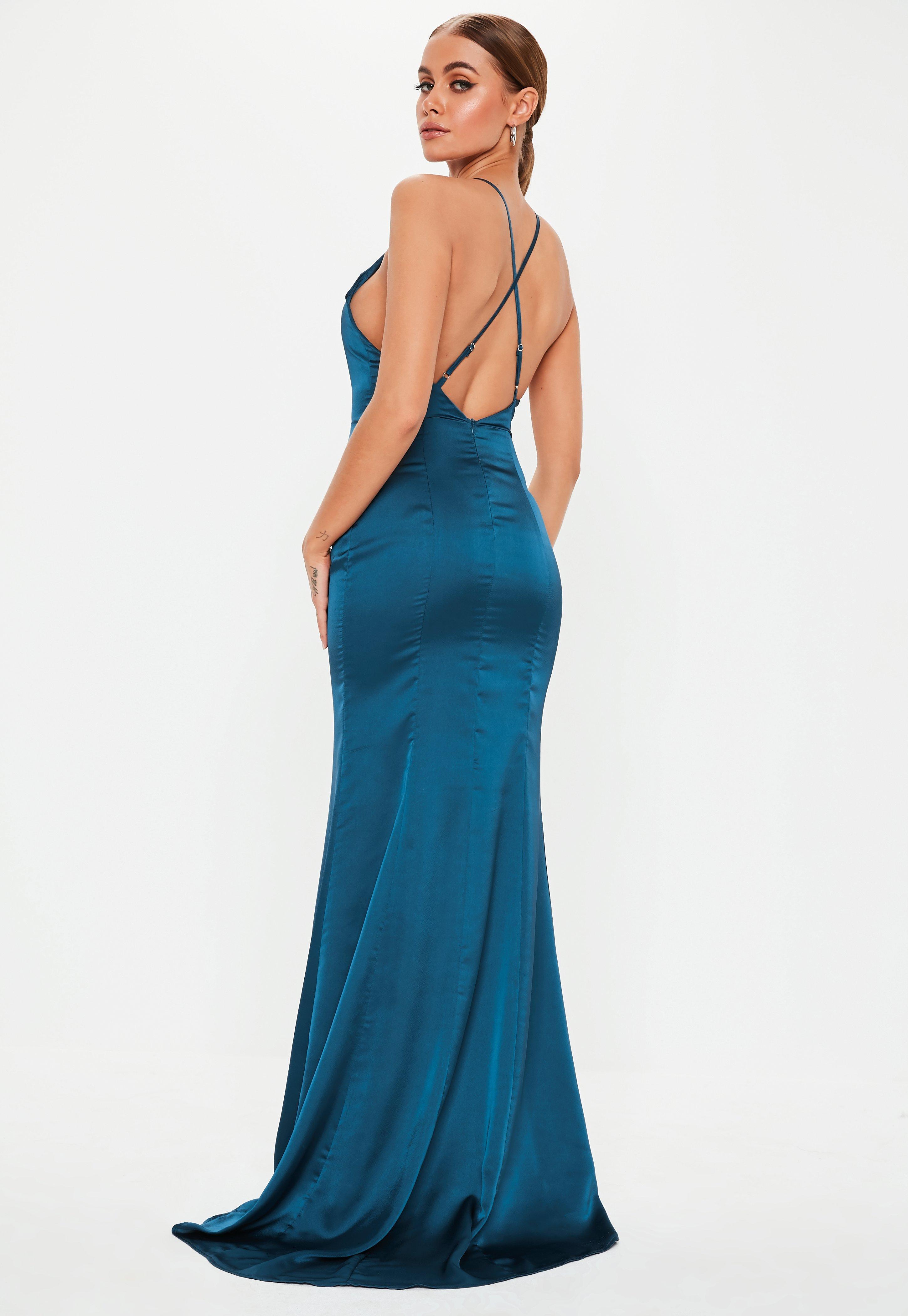 Satin Dresses  1a25122f9