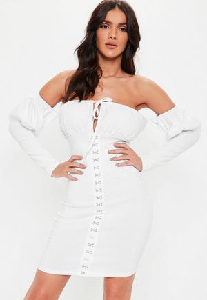 3258eb8ddba32 White Milk Maid Dress
