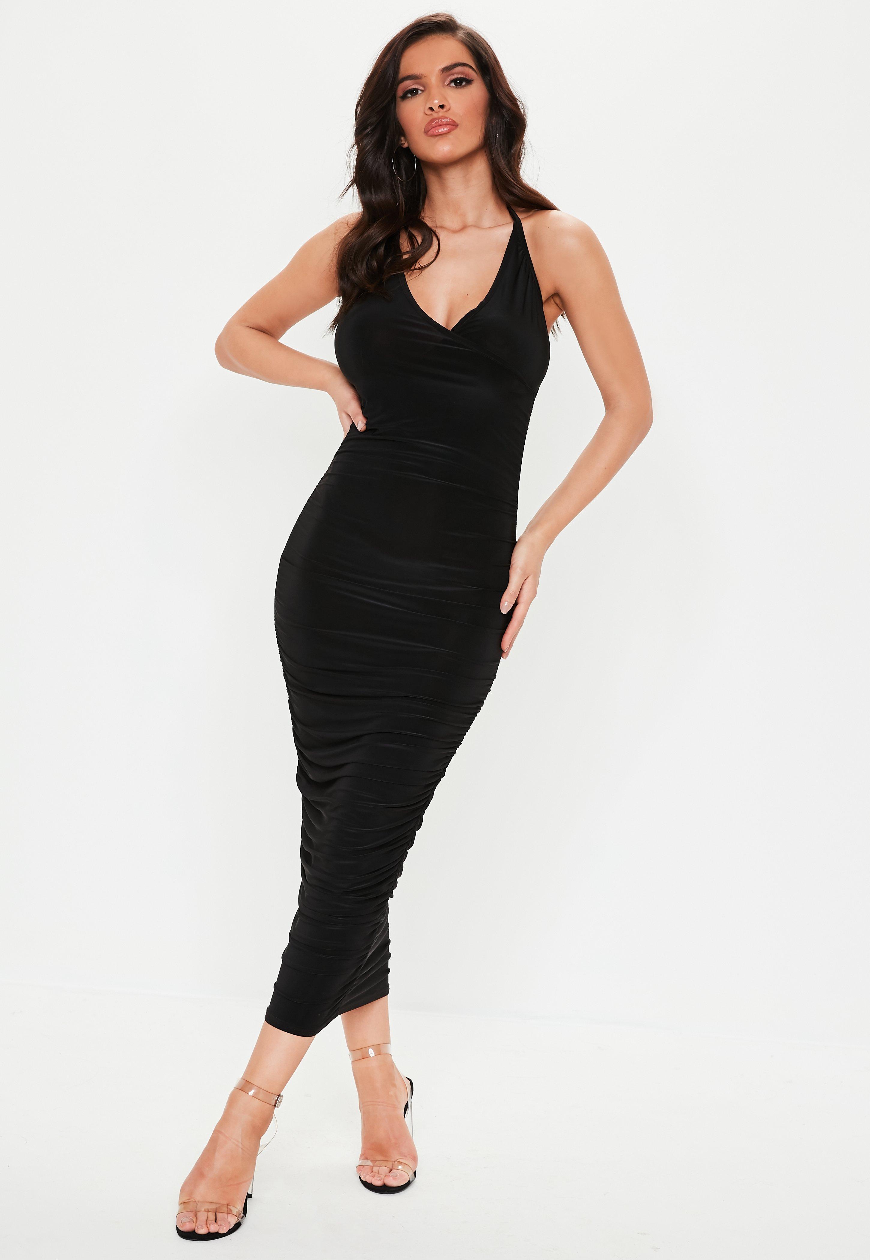 Halterneck Dresses  93d046894