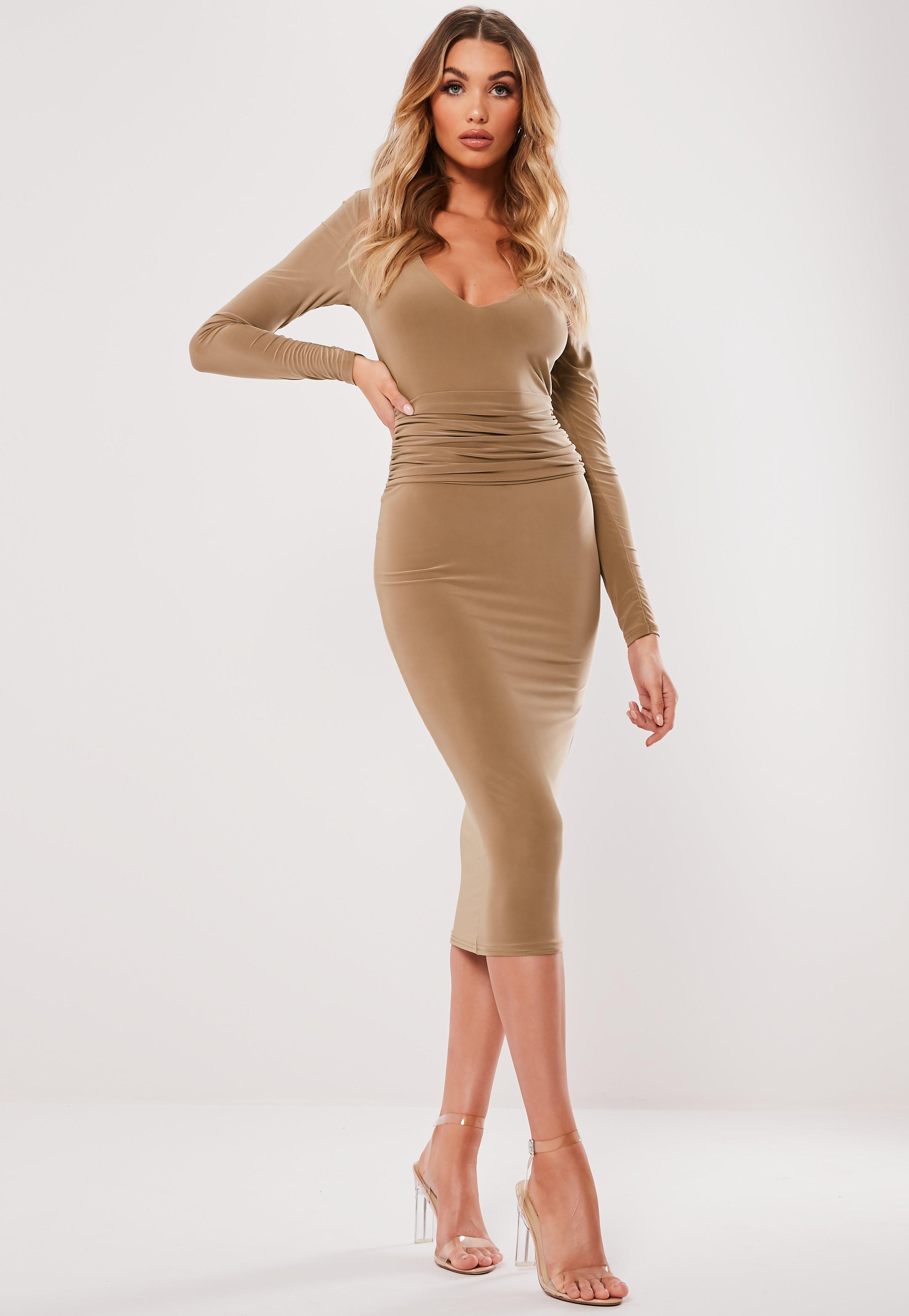 215abdef296390 Midi Dresses