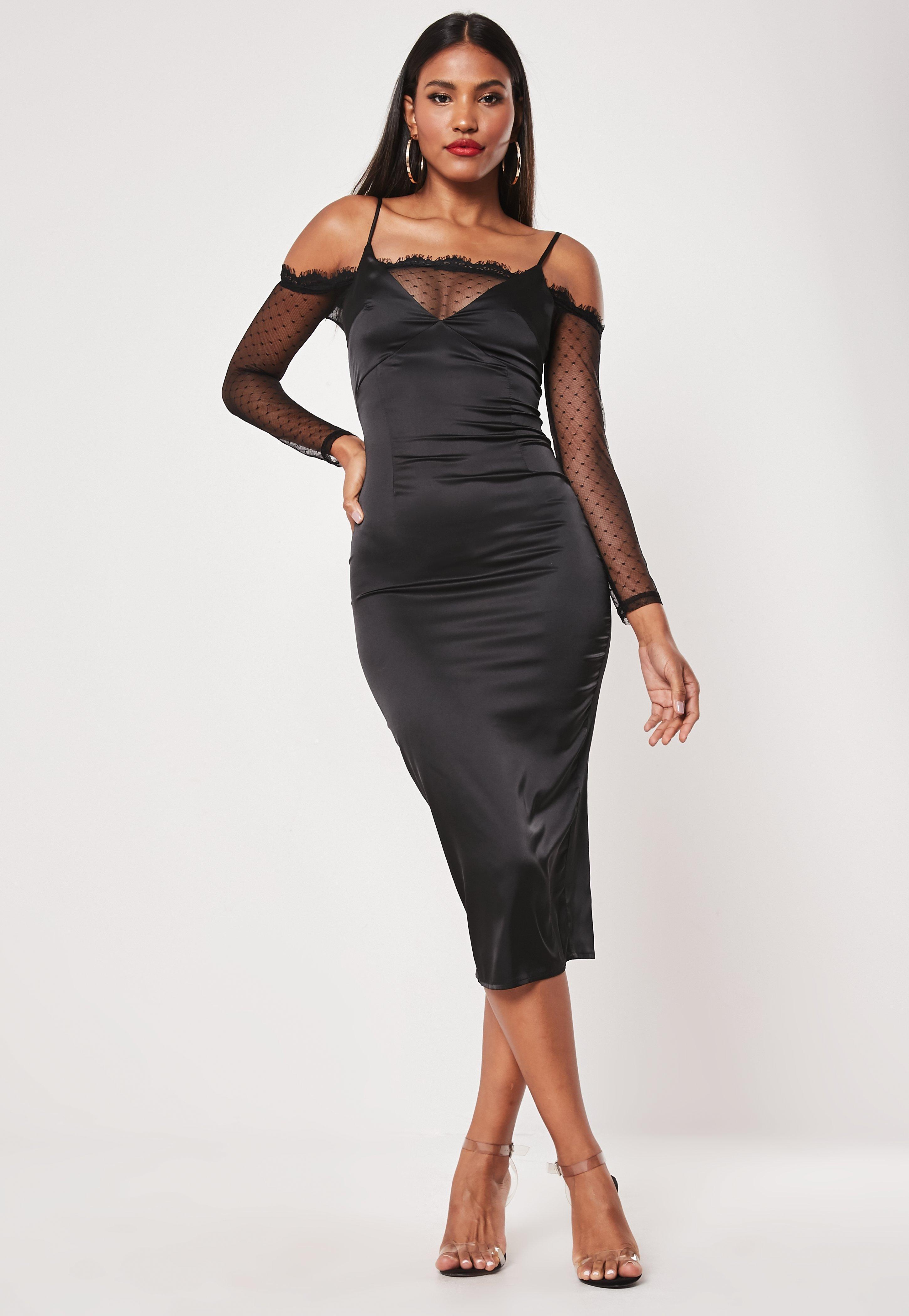4d23236b35f2 Lace Dresses | Long Sleeve Lace Dresses - Missguided Australia