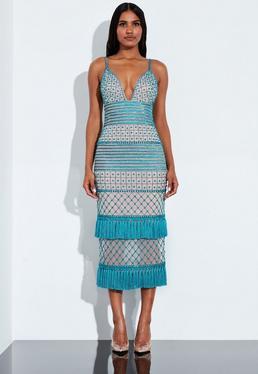 6b3e5bb1a95 Deep V Neck Dress - Plunging Neckline Dresses