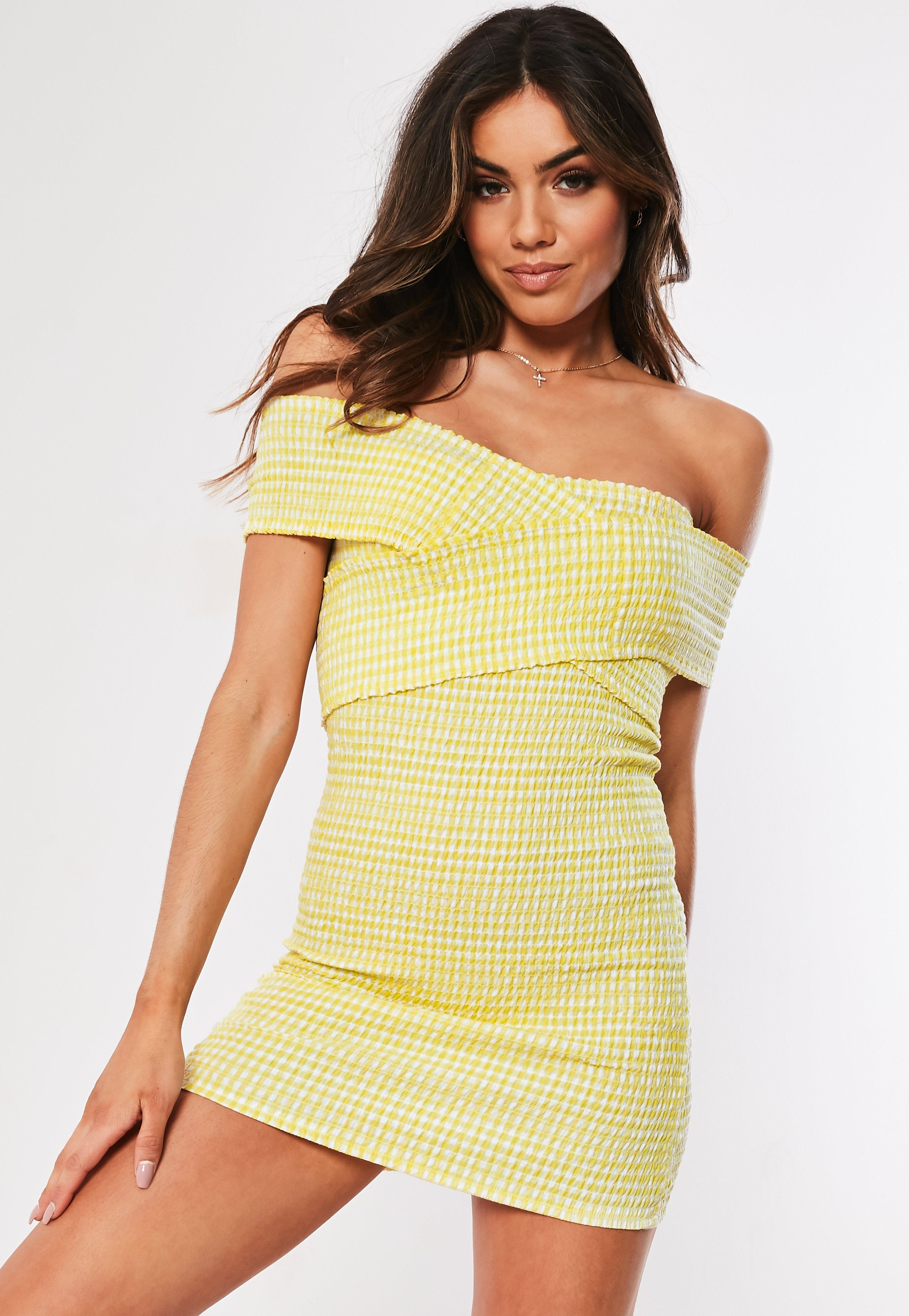 f2a30b115d70b Bardot Dresses | Off the Shoulder Dresses - Missguided Ireland