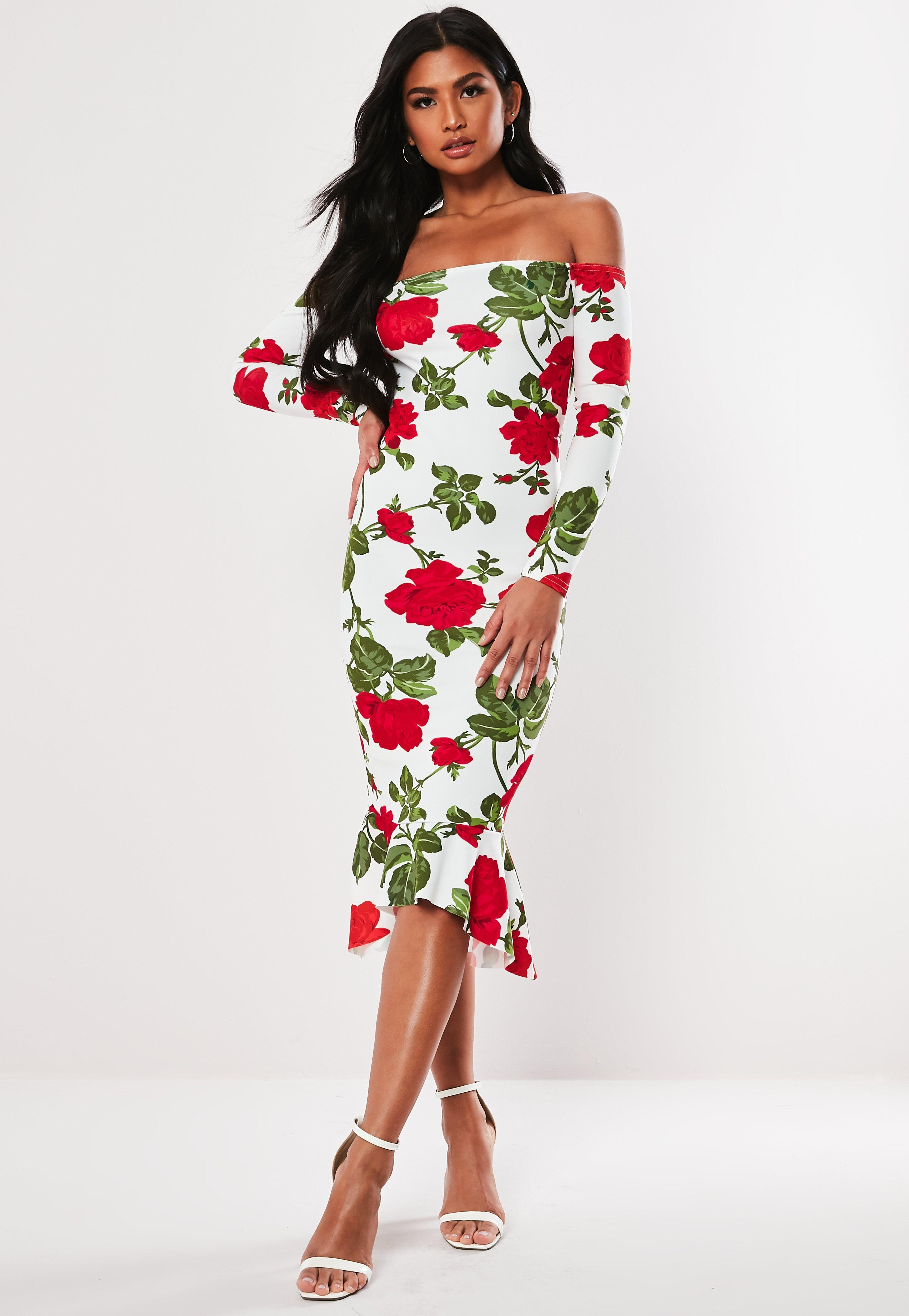 d76f36773304 Floral Dresses