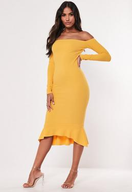 c6dd78a67b1c Midi Dresses UK | Knee Length Dresses | Missguided