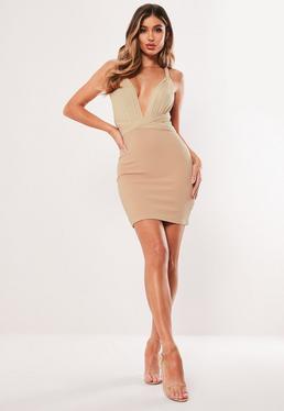 e25a15aa1f Stone Mesh Multiway Bodycon Mini Dress