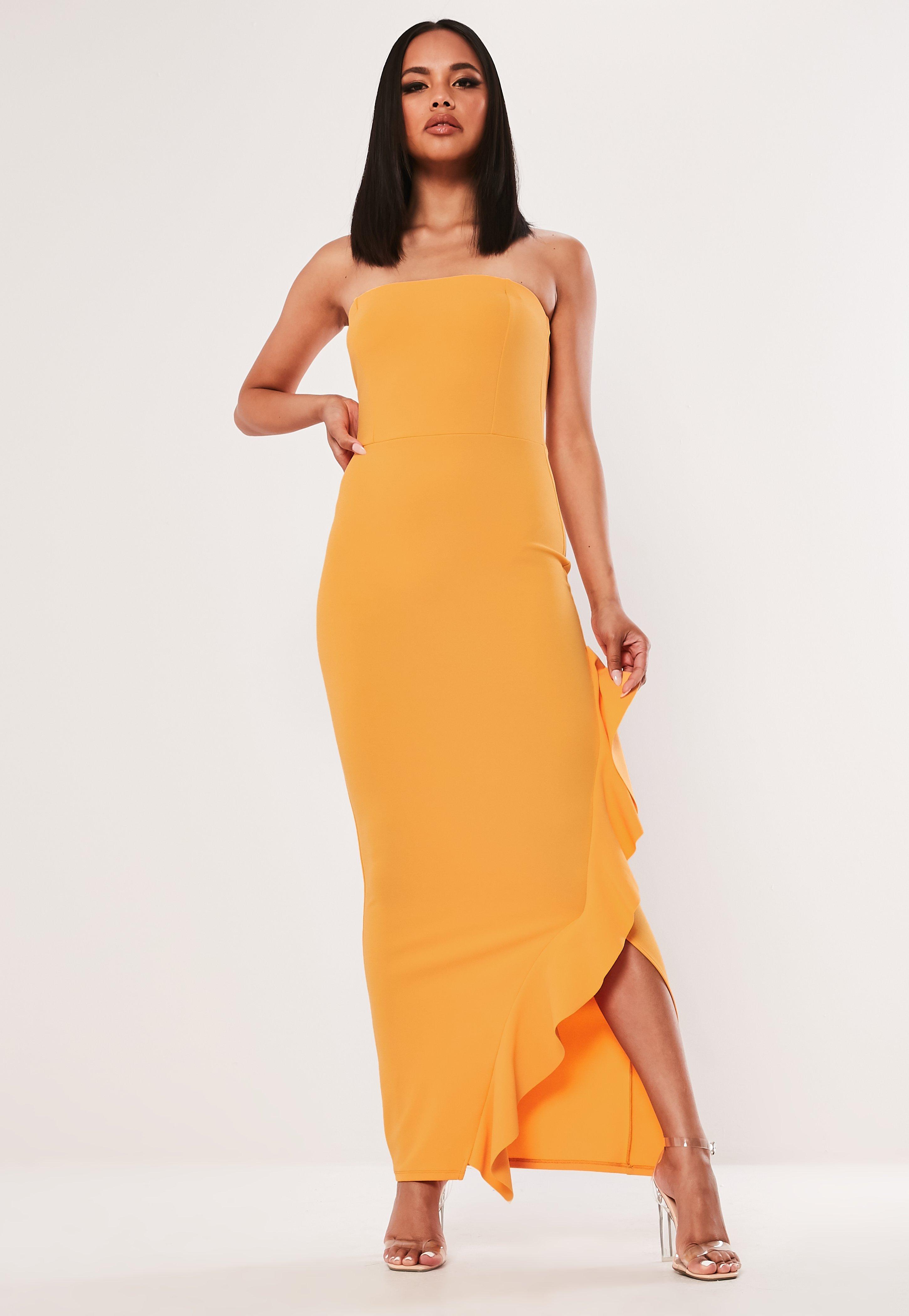 11c8d2564b12 Orange Dresses   Burnt Orange & Rust Dresses - Missguided