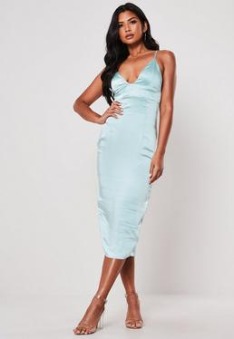 934e64c14999 Midi Dresses | Knee Length Dresses - Missguided