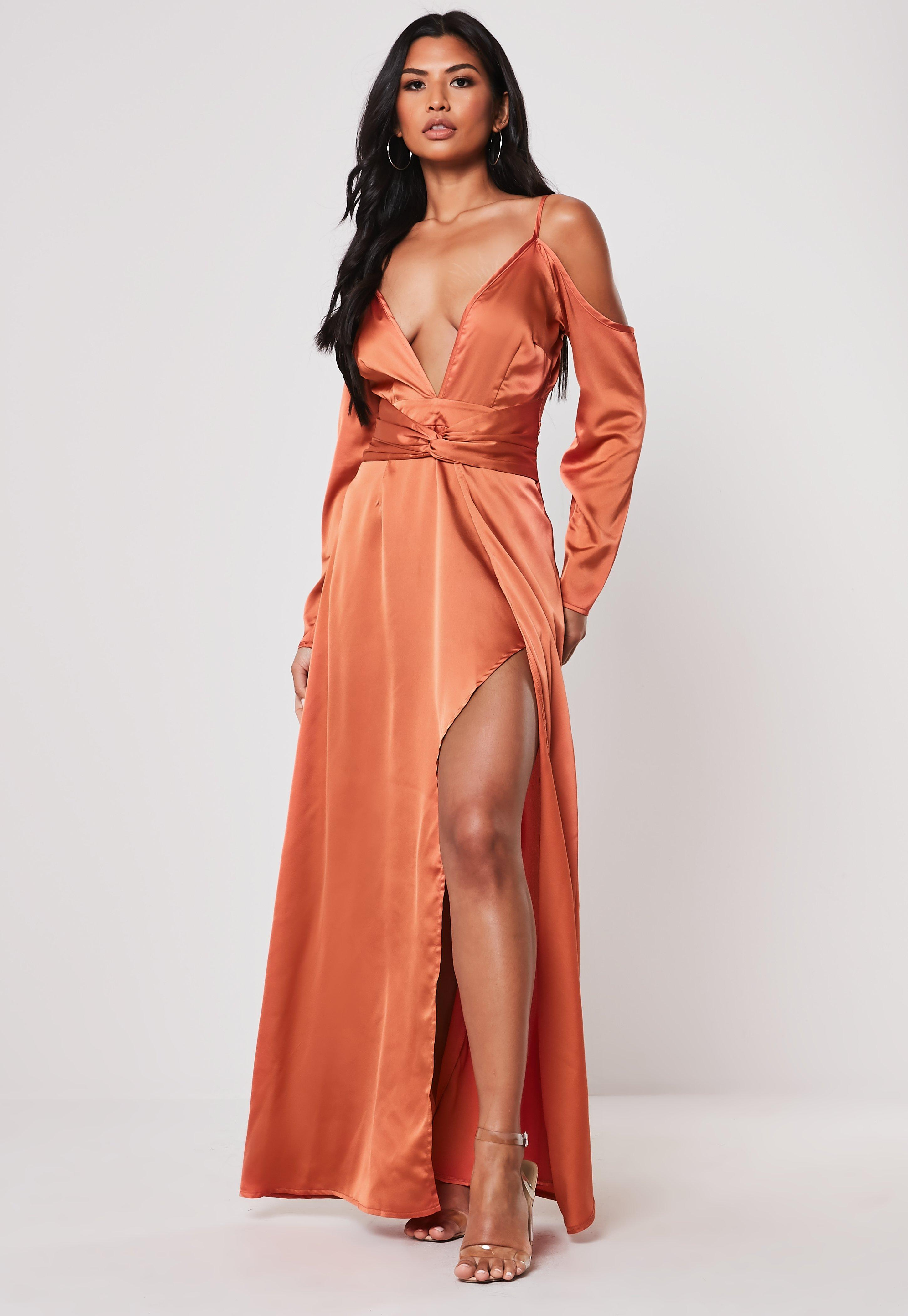 f0d0b892286 Satin Dress - Silky Dresses Online
