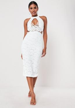 8681b82d3faa Midi Dresses UK | Knee Length Dresses | Missguided