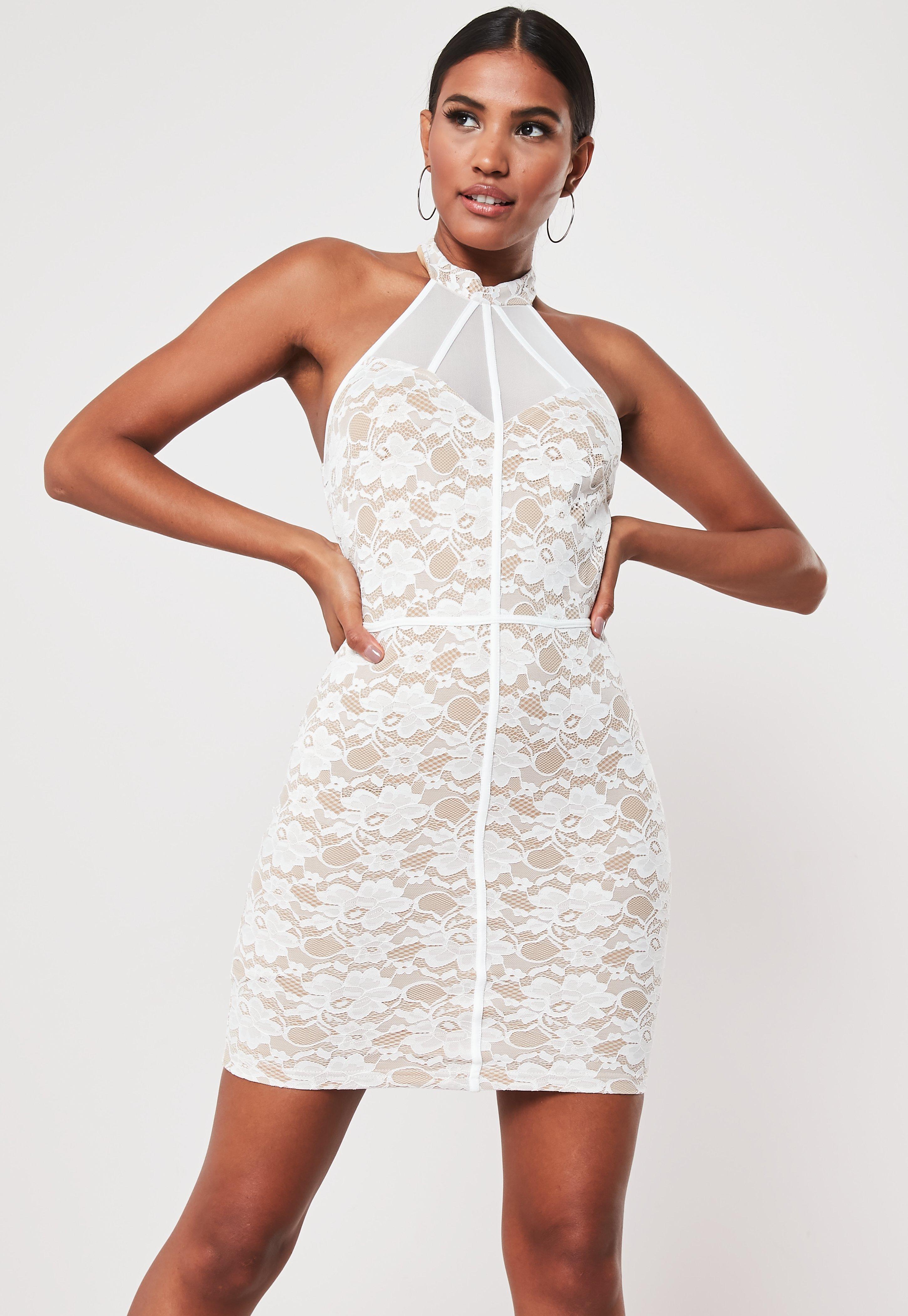 5b58ac2a72 Sukienki koronkowe - Białe