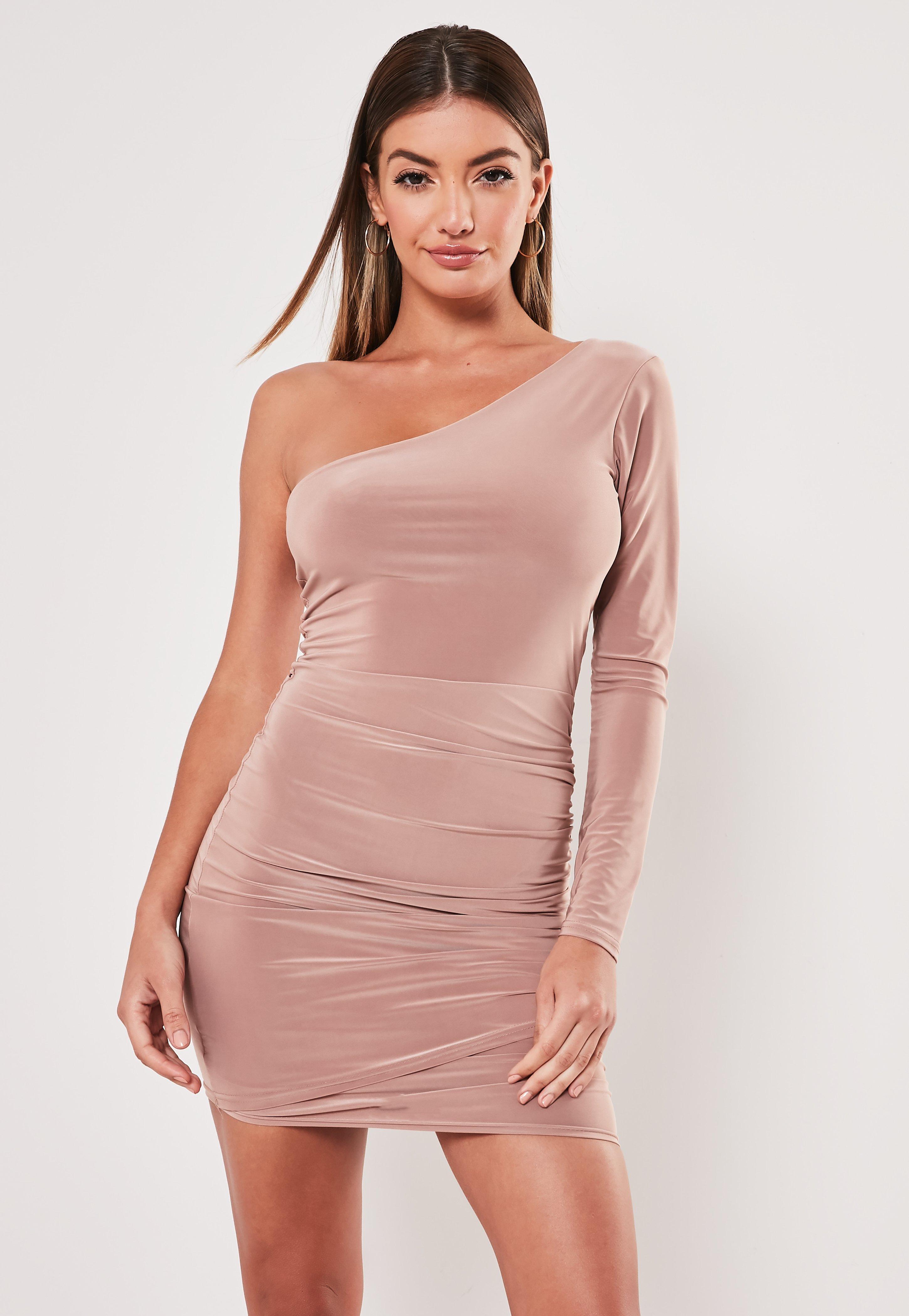 e73827e5ddcb9 Nude Dresses | Beige & Camel Dresses - Missguided