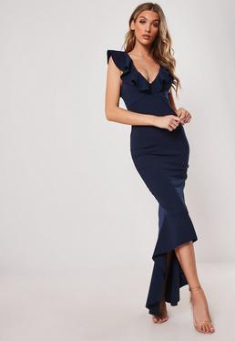 5db5d7f95a2d Deep V Neck Dress - Plunging Neckline Dresses | Missguided