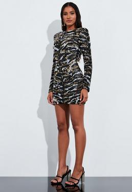 Sequin Dresses Sparkly Dresses Online Missguided