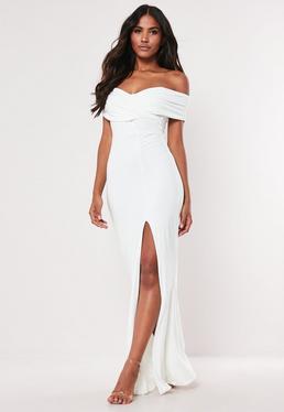 931f17f71cdcf Off the Shoulder Dresses - Bardot Dresses Online | Missguided