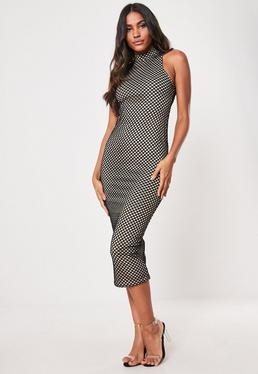 0c6cbe86d435 Midi Dresses UK | Knee Length Dresses | Missguided