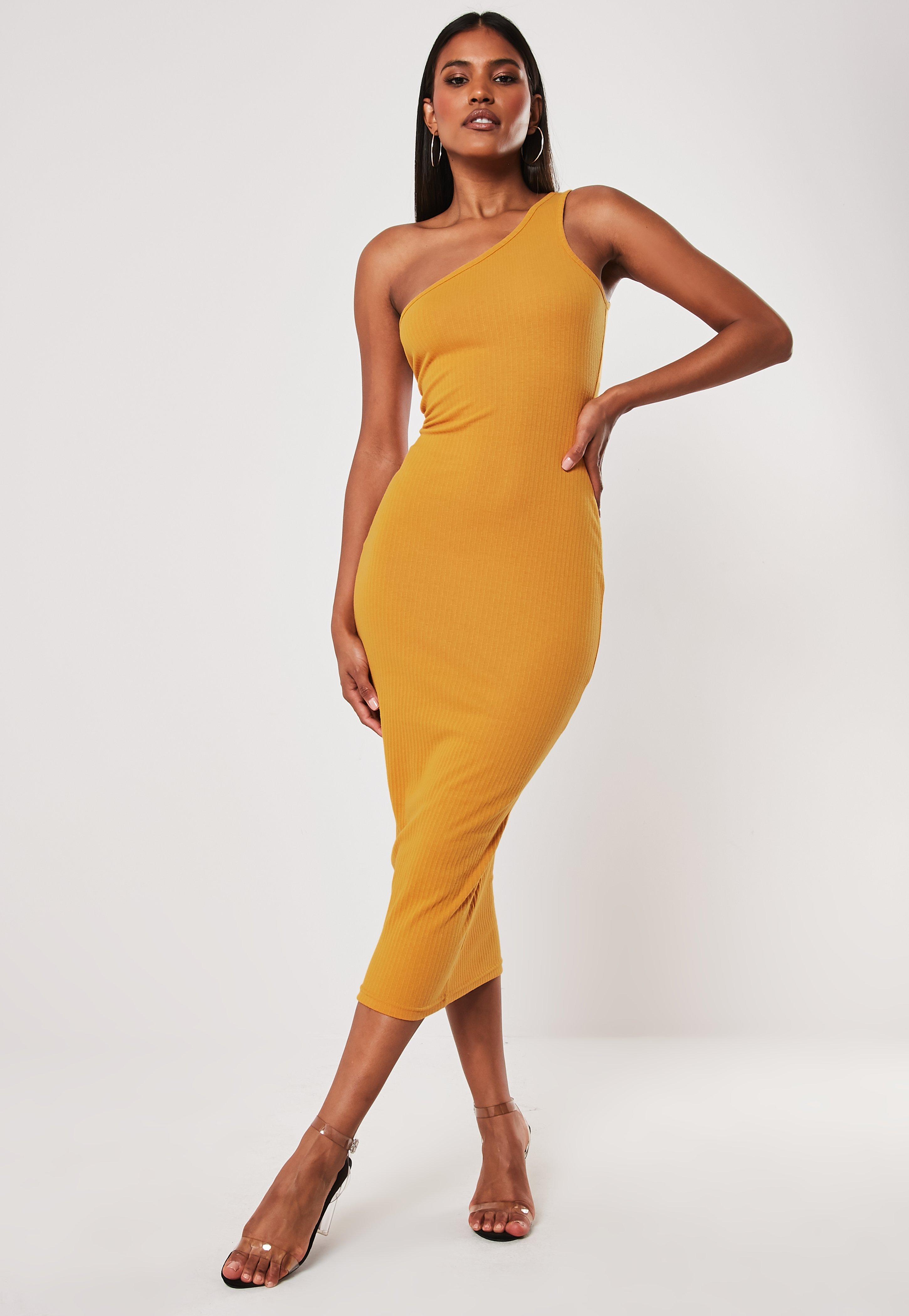 2eb2731afa958 One Shoulder Dresses | One Sleeve Dresses - Missguided