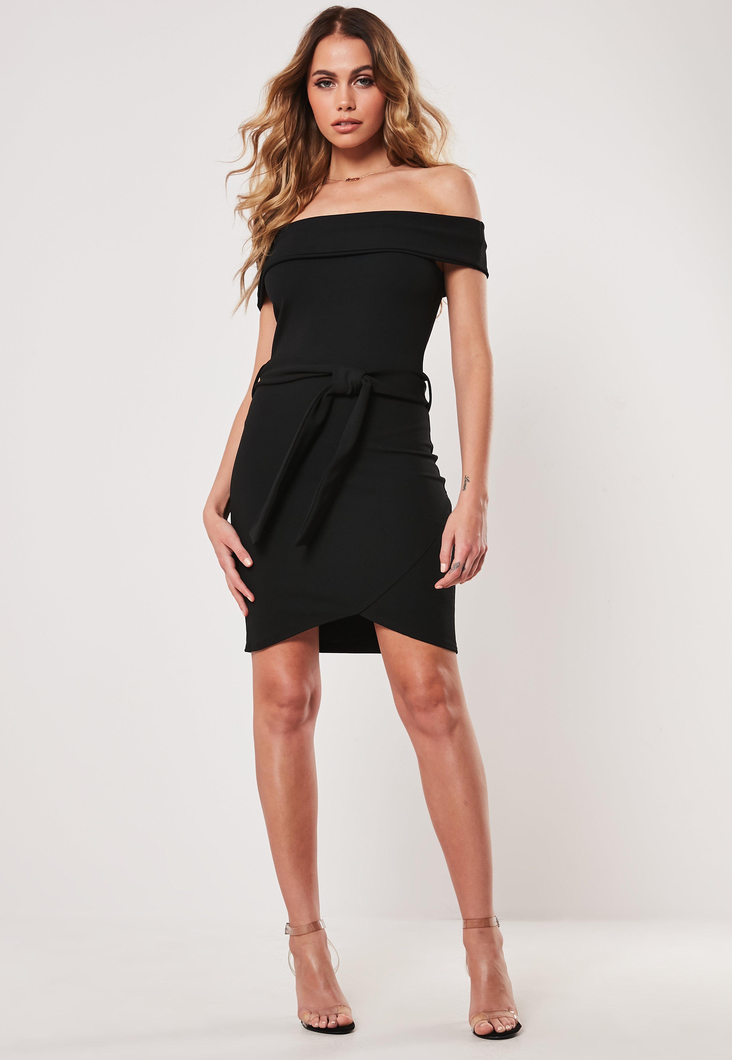 0161348b19d36 Bardot Dresses | Off the Shoulder Dresses - Missguided