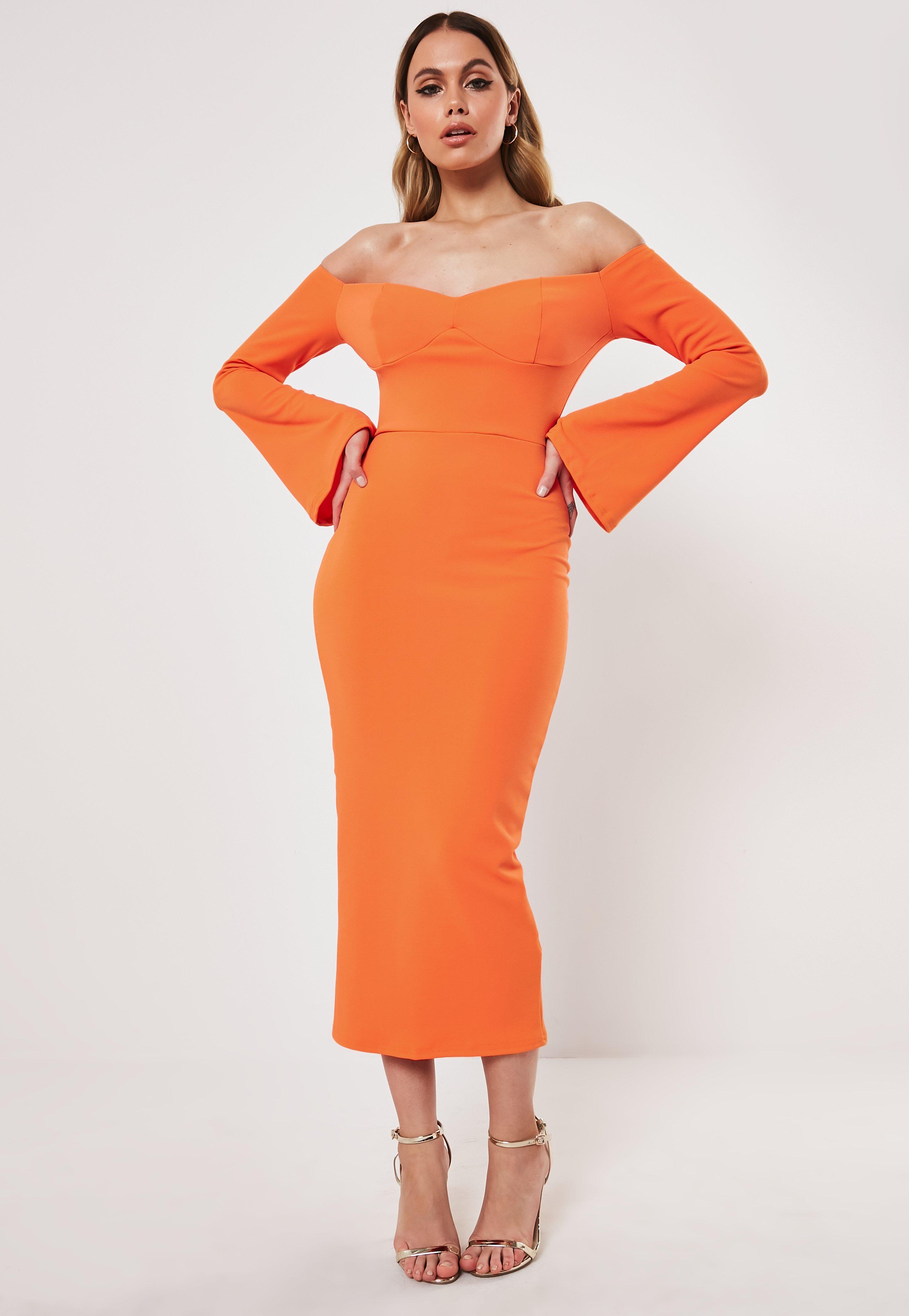 Orange Rust Orange Missguided DressesBurntamp; DressesBurntamp; Missguided Rust Orange Lc354ARjqS