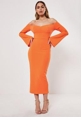 cd0d66771720f Bardot Dresses | Off The Shoulder Dresses - Missguided