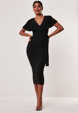 243cb5c61ec8 Wrap Dresses & Tie Waist Dress Online - Missguided Australia