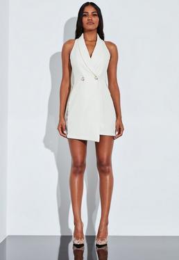 Пижамное кружевное мини-платье Peace + Love Ivory
